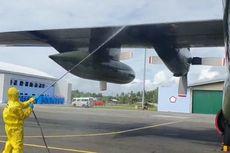 238 WNI Dikarantina di Natuna Bersiap Dipulangkan, Pesawat TNI AU Didisinfeksi