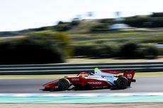 Sean Gelael Finis 10 Besar di F2 Catalunya