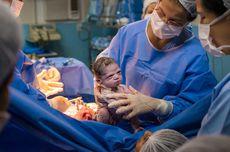 Bayi Ini Cemberut Saat Dilahirkan, Ternyata Begini Ceritanya