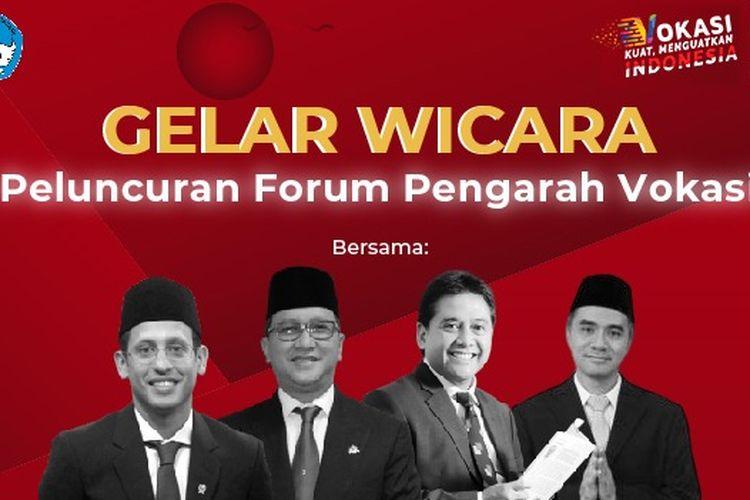 Kemendikbud meluncurkan Forum Pengarah Vokasi (Rumah Vokasi) yang resmi dirilis secara daring pada Rabu, 15 Juli 2020.