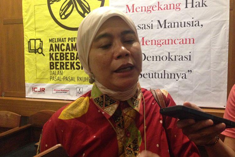 Wakil Ketua Komnas HAM Roichatul Aswidah