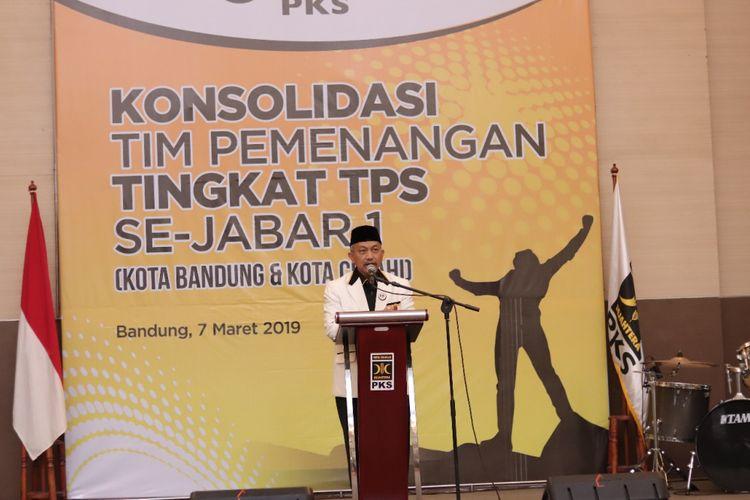 Ketua DPW PKS Jawa Barat Ahmad Syaikhu.