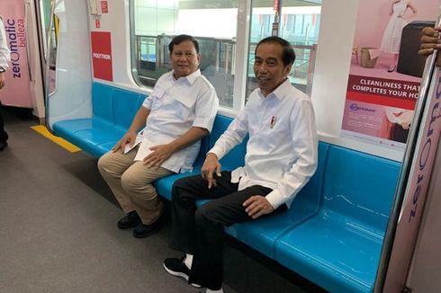 MRT Jakarta yang Jadi Saksi Rekonsiliasi Jokowi dan Prabowo...