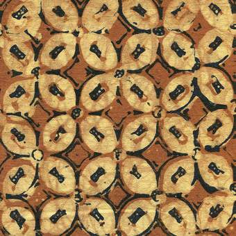 Ilustrasi pola kawung