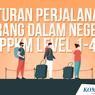 INFOGRAFIK: Syarat Perjalanan Orang Dalam Negeri Saat PPKM Level 1-4