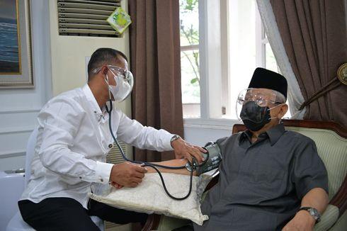 Suntik Vaksin Covid-19 ke Wapres, Dokter Kepresidenan Mengaku Agak Grogi