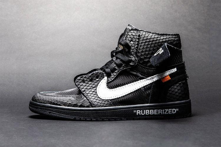 Lux ?Rubberized? Air Jordan 1