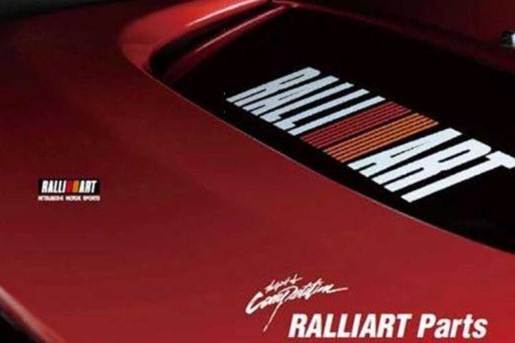 Ilustrasi Mitsubishi Ralliart