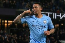 Man City Vs Wolves, 2 Gol Gabriel Jesus Dekatkan City ke Liverpool