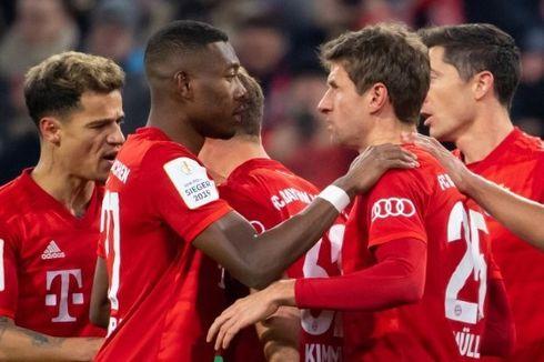 Bayern Muenchen Vs Hoffenheim, Catatan Istimewa Lewandowski dan Mueller