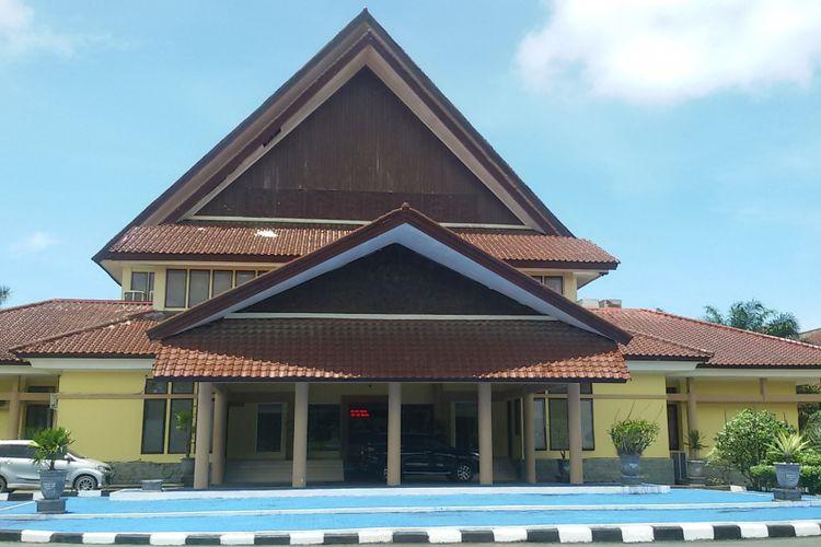 Kantor DPRD Kepulauan Bangka Belitung.