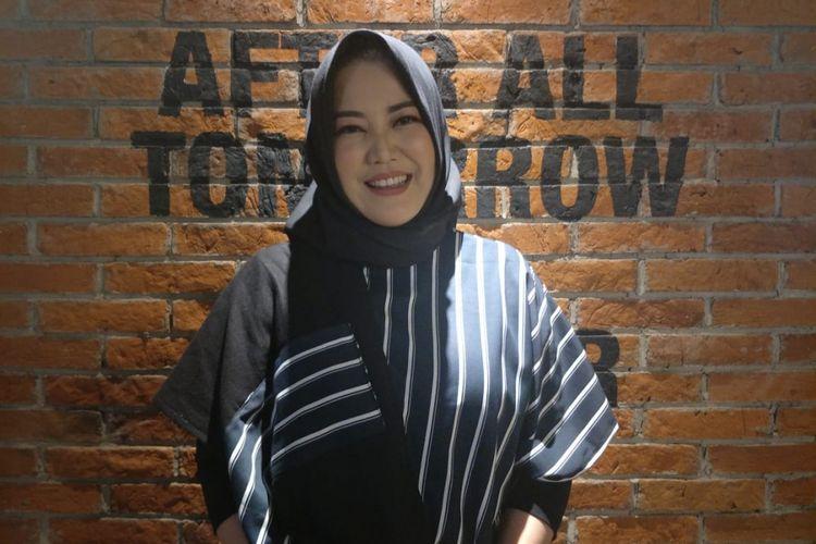 Risa Saraswati saat ditemui dalam jumpa pers dan screening film Silam di CGV Grand Indonesia, Thamrin Jakarta Pusat, Selasa (4/12/2018).