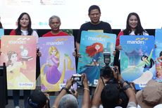 Bank Mandiri Luncurkan Kartu E-money Edisi Disney Princess