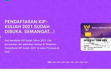 SNMPTN 2021: Pendaftar KIP Kuliah Diminta Cek Status Sinkronisasi LTMPT