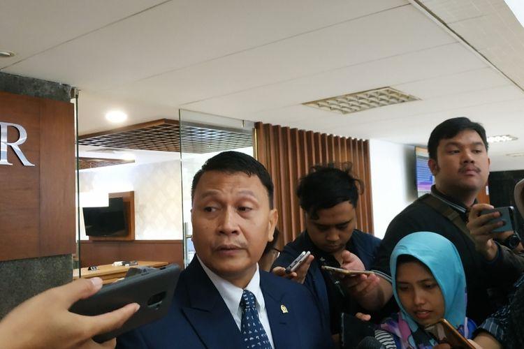 Ketua DPP PKS Mardani Ali Sera di Kompleks Parlemen, Senayan, Jakarta, Rabu (4/12/2012).