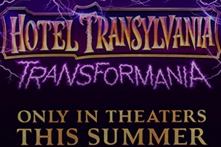 Poster film animasi Transylvania: Transformania.