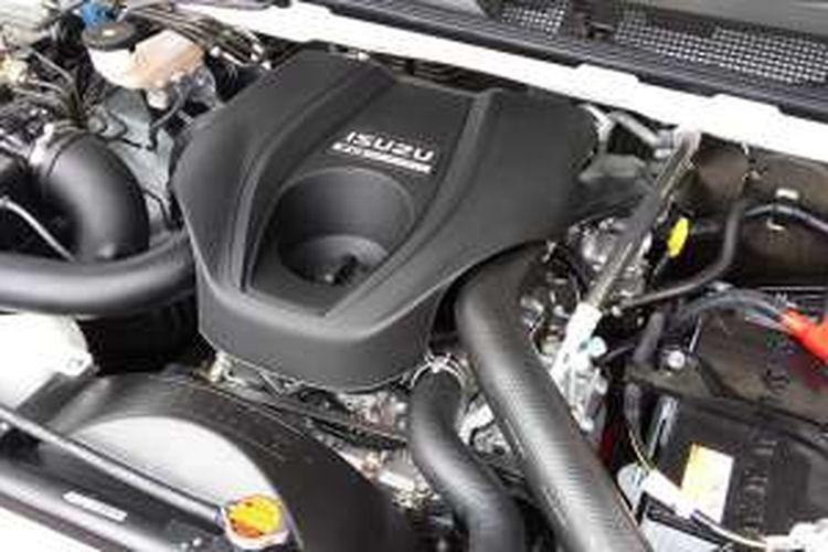 Mesin Isuzu mu-X 2500 cc dengan VGS turbo