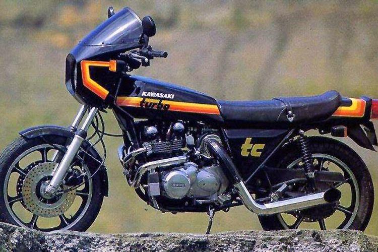 Kawasaki Z1R-TC, motor jadul yang dibekali turbo pada mesinnya