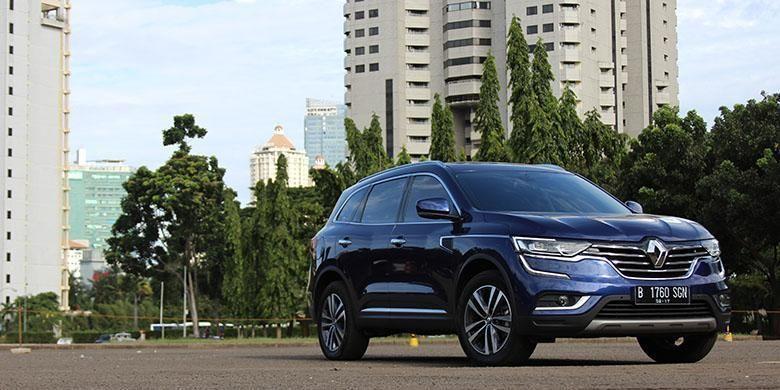 Tampilan New Renault Koleos.