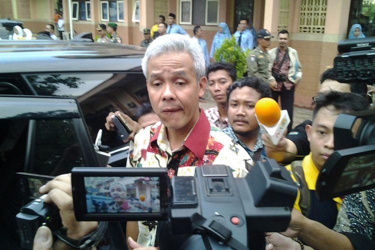 Gubernur Jawa Tengah, Ganjar Pranowo. KOMPAS.Com /Slamet Priyatin