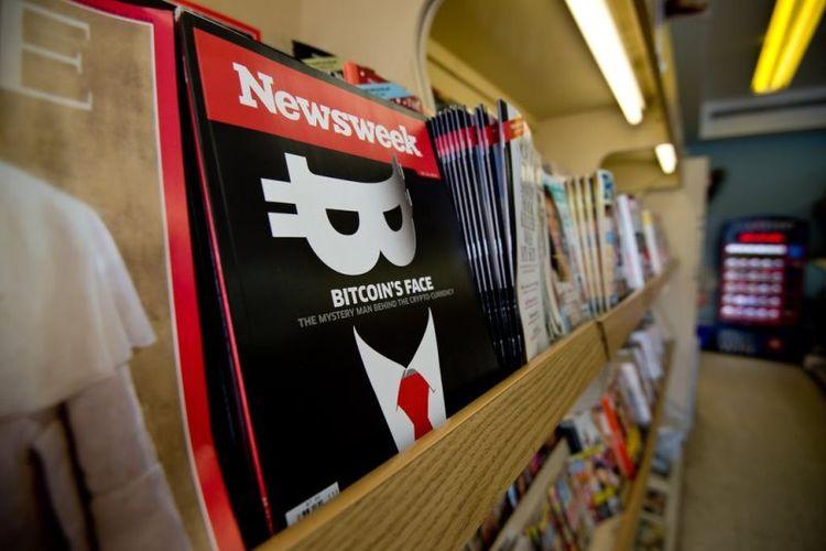 Salah satu tumpukan majalah Newsweek. Media yang berbasis di New York itu memutuskan untuk memecat tiga karyawan yang menyelidiki kasus internalnya (5/2/2018).
