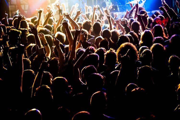 Ilustrasi konser