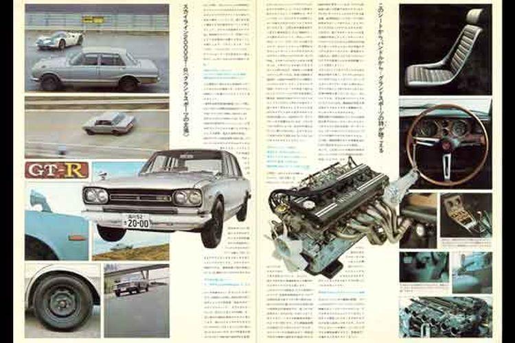 Ilustrasi Nissan GT-R