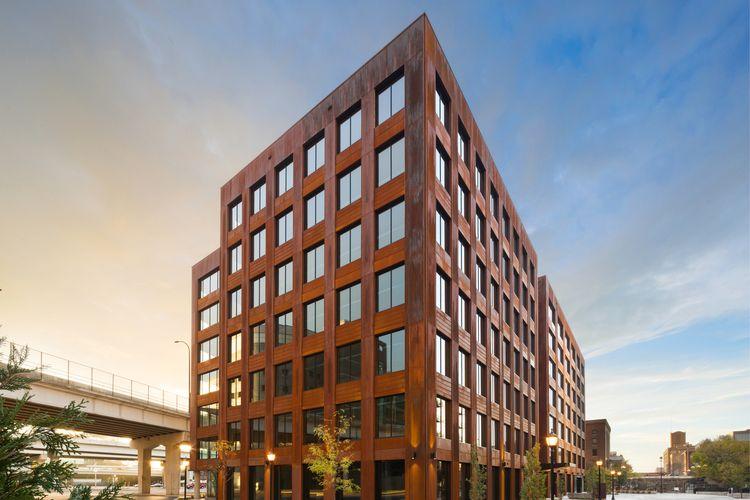 Gedung kayu tinggi T3 di Minneapolis Amerika Serikat