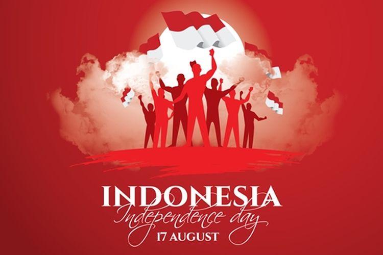 Ilustrasi Indonesia, HUT RI