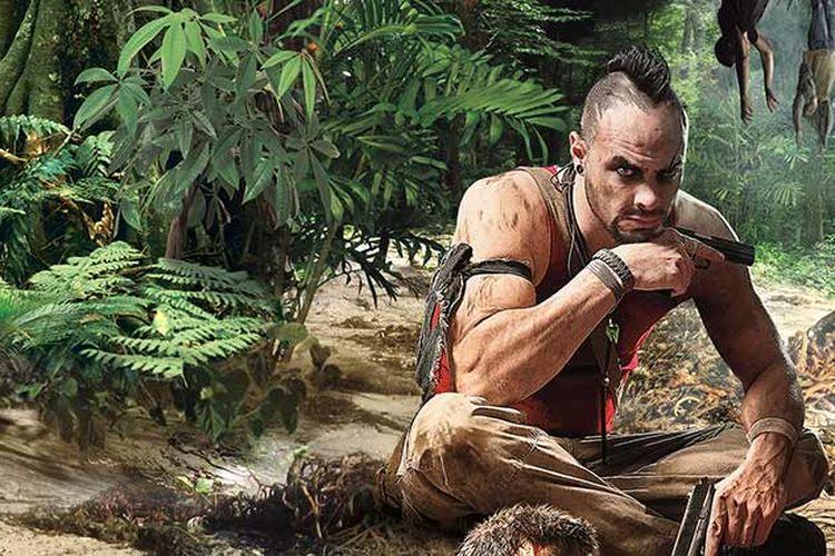 Vaas Montenegro, salah satu karakter antagonis yang terdapat dalam game Far Cry 3.