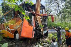 Kronologi Bus Sugeng Rahayu Alami Kecelakaan di Ngawi