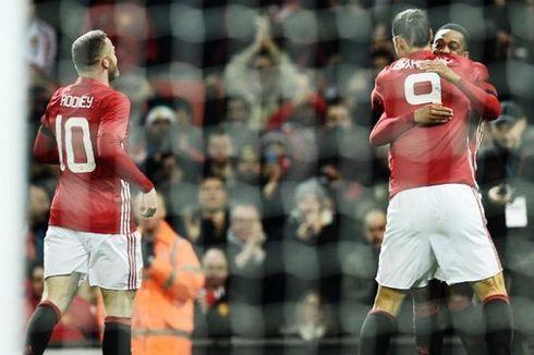 Alasan Ibrahimovic Tak Masalah Berikan Nomor 9 kepada Lukaku