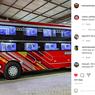 Bus Sultan Class Hasil Rombak Bengkel Lokal Asal Malang