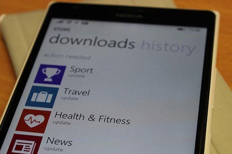 Aplikasi MSN di Windows Phone