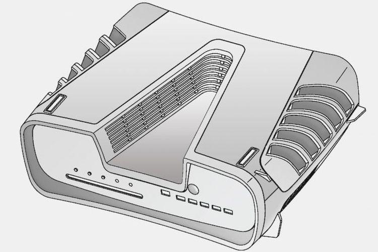 Ilustrasi paten Sony yang diduga sebagai PlayStation 5