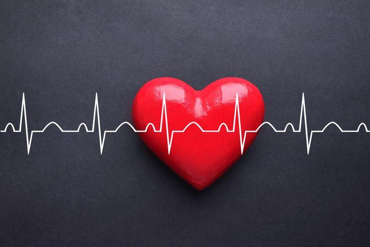 Ilustrasi takikardia, gangguan irama jantung yang dialami Jessica Iskandar.