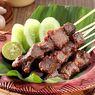 Resep Sate Sapi Bakar Teflon, Lengkap dengan Nasi Mentega dan Saus