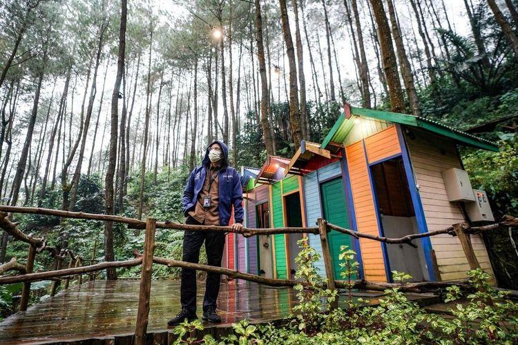 Menparekraf Sandiaga Uno di kawasan pariwisata Borobudur Highland