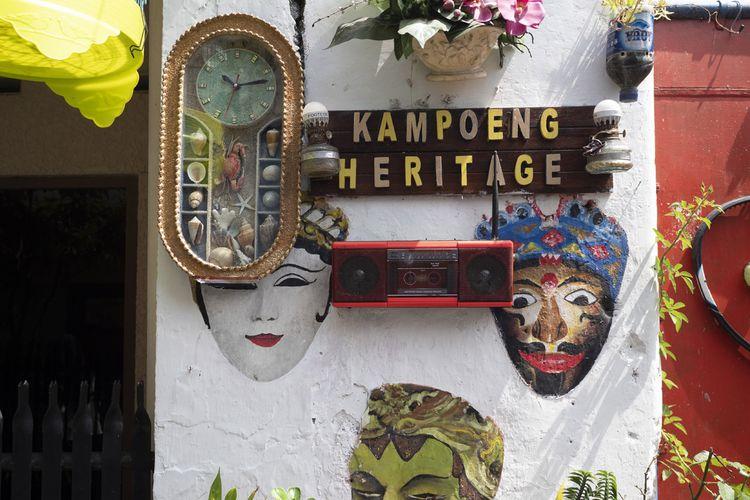 Latar selfie di Kayutangan, Malang.