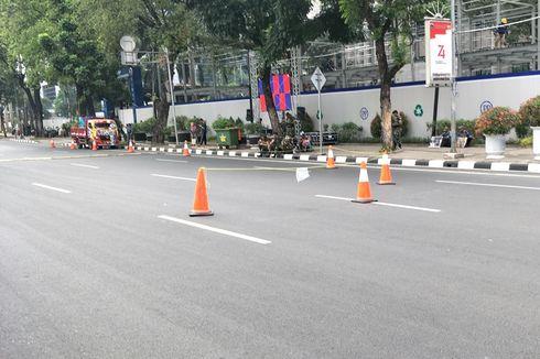Jelang Pelantikan Jokowi-Ma'ruf, Jalan Sekitar Monas Ditutup