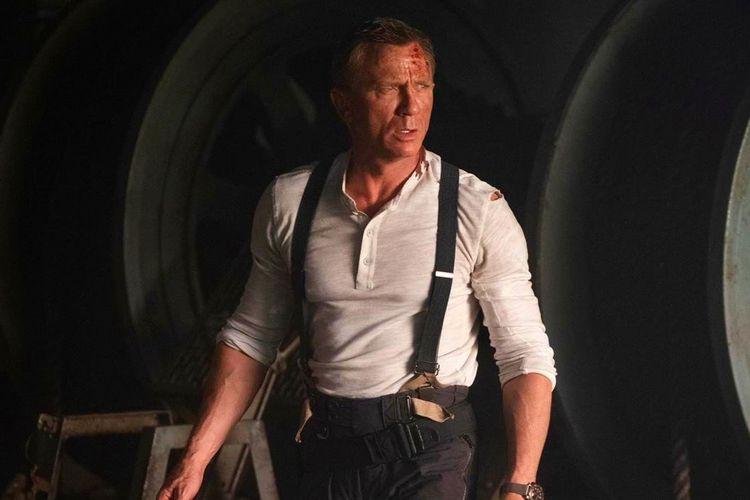 Adegan dalam film James Bond: No Time to Die.