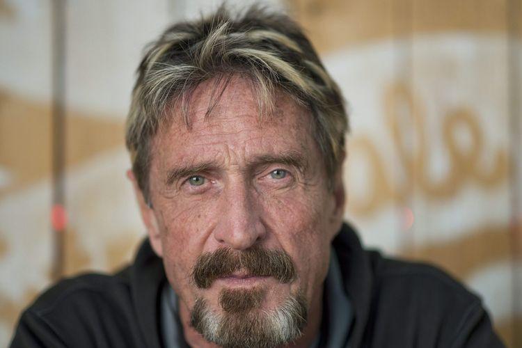 John McAffee, pendiri perusahaan antivirus McAffee yang tutup usia akibat tindakan bunuh diri pada Rabu (23/6/2021).