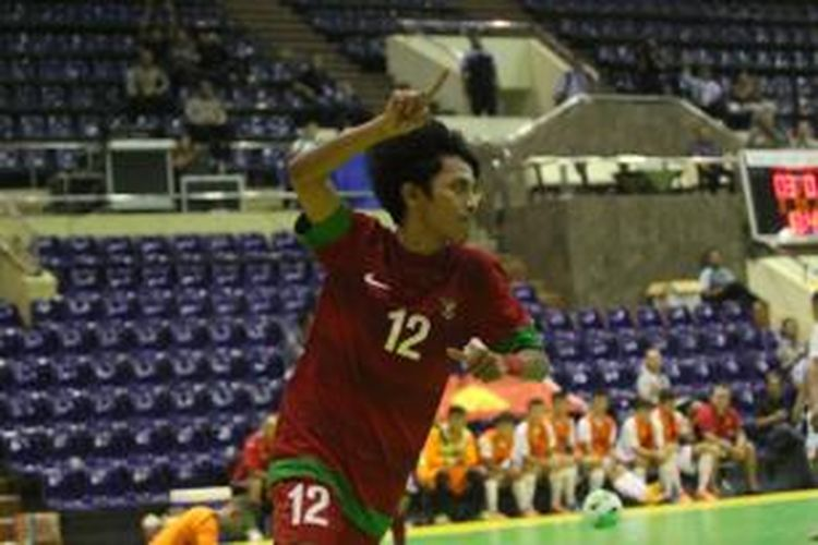 Pemain tim nasional futsal Indonesia, Bambang Bayu Saptaji.
