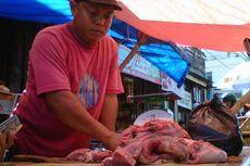 Besok Tak Berdagang, Pedagang Obral Daging Sapi Lokal