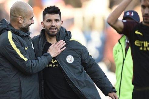 Sinyal Guardiola untuk Pertahankan Aguero