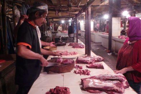 Daging Sapi Tembus Rp 100.000 Per Kilogram di Pasar Kramat Jati