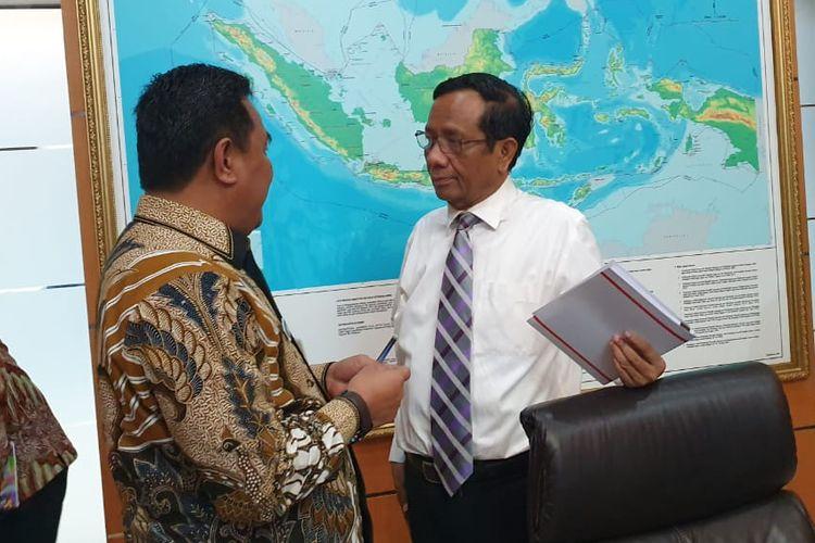 Rapat Koordinasi tingkat Menteri membahas masalah di Papua dan Papua Barat, Jumat (27/12/2019) di Gedung Kemenkopolhukam).
