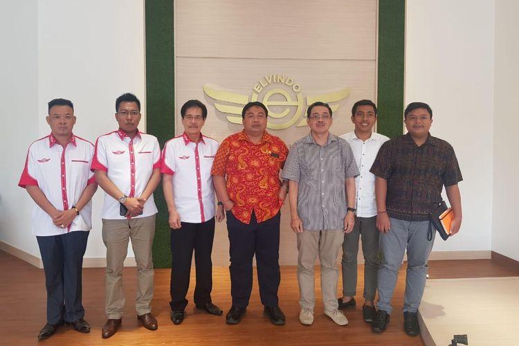 Manajemen Elvindo bersama KMHDI dan Komisi IV DPR RI