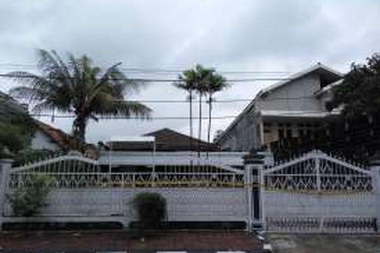 Kondisi dari klinik aborsi ilegal yang berada di Jalan Cisadane No.19 RT 004/002, Cikini, Menteng, Jakarta Pusat pada Jumat (26/2/2016).