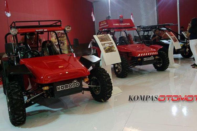 Fin Komodo Teknologi sudah tiga kali ikut Indonesia International Motor Show, yakni pada 2010, 2015, dan 2016.